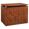 "Ascent File Cabinet - 35.5"" x 21.9"" x 29.5"" - 2 x Drawer(s) for File - Letter, Legal - Ball-bearing Suspension, Durable, Leveling Glide, Locking Drawer, Stain Resistant, Scratch Resistant - Che"