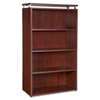 "Four-shelf Bookcase for Ascent and Concordia Series - 31.5"" x 13.8"" x 47.3"" - 4 x Shelf(ves) - 176 lb Load Capacity - Durable, Stain Resistant, Scratch Resistant, Leveling Glide, Adjustable Gli"