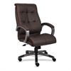 "Executive Chair - Leather Brown Seat - 5-star Base - Brown - 20"" Seat Width x 20"" Seat Depth - 27"" Width x 32"" Depth x 44.5"" Height"