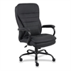 "Lorell Executive Chair - Leather Black Seat - 5-star Base - Black - 22.44"" Seat Width x 18.70"" Seat Depth - 31.1"" Width x 33.3"" Depth x 45.7"" Height"