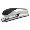 "Business Source Diecast Desktop Stapler - 20 Sheets Capacity - 210 Staple Capacity - Full Strip - 1/4"" Staple Size - Chrome"