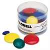 Lorell Tub of Assorted Magnet - Small, Medium, Large - 30 / Pack - Assorted