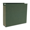 "Business Source 1/5 Cut Box Btm Hanging Legal Folders - Legal - 8 1/2"" x 14"" Sheet Size - 2"" Expansion - 1/5 Tab Cut - Standard Green - Recycled - 25 / Box"