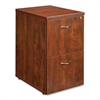"Ascent Pedestal - 15.8"" x 22.9"" x 27"" - 2 - Material: Particleboard - Finish: Cherry, Laminate"