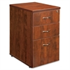 "Lorell Ascent Pedestal - 15.8"" x 21.9"" x 27"" - 3 - Material: Particleboard - Finish: Cherry, Laminate"