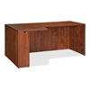 "Lorell Essentials Rectangular Left Credenza - 70.9"" x 35.4"" x 29.5"" - Finish: Cherry, Laminate"