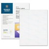 "Business Source Shipping Label - 1.50"" Width x 2.81"" Length - Rectangle - White - 2100 / Pack"