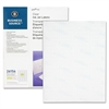"Premium Mailing Label - Permanent Adhesive - ""0.50"" Width x 1.75"" Length - Rectangle - Inkjet - Clear - Polyester - 2000 / Pack"