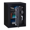 "Sentry Safe Fire-Safe Executive Safe - 3.40 ft³ - Electronic Lock - Water Resistant, Fire Resistant - Internal Size 25.75"" x 19.38"" x 11.73"" - Overall Size 27.8"" x 21.7"" x 19"" - Black"