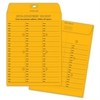 "Interdepartmental Envelope - Interoffice - #28 - 10"" Width x 13"" Length - 28 lb - Self-sealing - Kraft - 100 / Box - Brown Kraft"