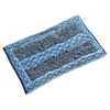 "Double-sided Rough Surface Microfiber Mop - 12"" Width x 17.50"" Depth - MicroFiber"