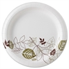 "Dixie Pathway Heavyweight Paper Plates - 8.50"" Diameter Plate - Paper - Microwave Safe - White - 500 Piece(s) / Carton"