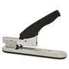 "Business Source Heavy Duty Stapler - 100 Sheets Capacity - 1/2"" Staple Size - Black, Putty"