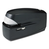 "Business Source Electric Stapler - 25 Sheets Capacity - 210 Staple Capacity - Full Strip - 1/4"" Staple Size - Black"