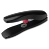 Business Source Low Force Desktop Stapler - 60 Sheets Capacity - 125 Staple Capacity - Black
