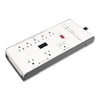 Compucessory RJ45 8-Outlet Surge Protector - 8 Receptacle(s) - 2160 J