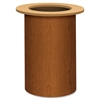 "HON Preside Cafeteria Table Base - Cylindrical Base - 28.38"" Height x 18"" Width - Assembly Required - Bourbon Cherry, Laminated"