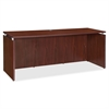 "Lorell Ascent Credenza - 66.1"" x 23.6"" x 29.5"" - Finish: Laminate, Mahogany"