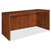 "Lorell Essentials Rectangular Desk Shell - 47.3"" x 29.5"" x 29.5"" - Finish: Cherry, Laminate"