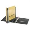 "Cardinal EconomyValue ClearVue Slant-D Ring Binder - 1 1/2"" Binder Capacity - Letter - 8 1/2"" x 11"" Sheet Size - 375 Sheet Capacity - 1 3/5"" Spine Width - 3 x D-Ring Fastener(s) - 2 Inside Front & Bac"