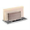 "CEP Acrylight Refined Envelope Sorter - 50 x Envelope - 2 Compartment(s) - 4"" Height x 4.5"" Width x 9"" Depth - Desktop - Clear - Acrylic - 1Each"