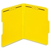 "Color Pressboard Folders with Fastener - Letter - 8 1/2"" x 11"" Sheet Size - 2"" Expansion - 2 Fastener(s) - 2"" Fastener Capacity - 1/3 Tab Cut - Assorted Position Tab Location - 25 pt. Folder"