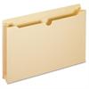 "Pendaflex 100% Recycled Jacket - Legal - 8 1/2"" x 14"" Sheet Size - 500 Sheet Capacity - 2"" Expansion - 11 pt. Folder Thickness - Manila - Manila - 50 / Box"