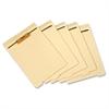 "1/5 Cut Bottom Tab Folder Divder with Fastener - 8.50"" Divider Width x 11"" Divider Length - Letter - Manila Manila Divider - Assorted Tab(s) - 50 / Pack"