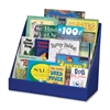 "Classroom Keepers Book Shelf - 3 Tier(s) - 17"" Height x 20"" Width x 10"" Depth - Recycled - Blue - 1Each"