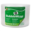 "Duck Bubblewrap Protective Packaging - 12"" Width x 175 ft Length - 187.5 mil Thickness - Reusable, Lightweight, Water Resistant, Perforated - Nylon - Clear"