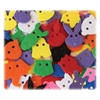 ChenilleKraft Delightful Animal Face Button - 70 Piece(s) - 70 / Pack - Assorted