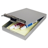 "Saunders Recycled Aluminum Redi-Rite Clipboard - Top Opening - 6"" x 9"" - Aluminum - Silver"