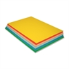 "Pacon Economy Foam Board - 30"" x 20""187 mil - 12 / Carton - Assorted - Foam"