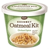Njoy N'Joy Gourmet Orchard Spice Oatmeal Kit - Resealable Lid, Individually Wrapped - Orchad Spice - Cup - 1 Serving Cup - 8 / Carton