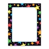 "Trend Gel Stars Copy & Multipurpose Paper - Letter - 8.50"" x 11"" - 50 / Pack - Assorted, White"