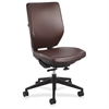 "Safco Sol Task Chairs - Vinyl Brown Seat - Steel Frame - 5-star Base - 19"" Seat Width x 19"" Seat Depth - 25"" Width x 25"" Depth x 41"" Height"