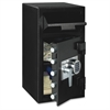 DH-134E Security Safe - 1.60 ft³ - Programmable, Electronic Lock - 5 Live-locking Bolt(s) - Fire Resistant, Water Resistant, Theft Resistant - for Home, Money, Document - Internal Size 17.