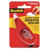 Scotch Double-Sided Adhesive Roller - Dispenser Included - Handheld Dispenser - 1 / Pack - Clear