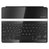 Keyboard/Cover Case for iPad - Silver - Aluminum