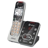 AT&T CRL32102 DECT 6.0 Expandable Cordless Phone with Answering System and Caller ID/Call Waiting, Silver/Black, 1 Handset - Cordless - 1 x Phone Line