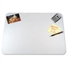 "KrystalView Clear Desk Pad - Rectangle - 24"" Width x 19"" Depth - Vinyl - Clear"