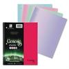 "Enviroshades One Sub Notebook - 80 Sheets - Printed - Spiral - 15 lb Basis Weight - Quarto 9"" x 11"" - Assorted Paper - Aqua, Flamingo, Kermit, Plum Cover - Poly Cover - Recycled - 1 / E"