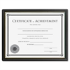 "Lorell 8x10 Frame w/Cert. of Achievement - 8"" x 10"" - Black1 Each"