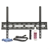 "Wall Mount for Flat Panel Display - 32"" to 60"" Screen Support - 77 lb Load Capacity - Steel - Black"
