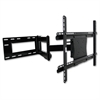 "Mounting Arm for Flat Panel Display - 37"" to 61"" Screen Support - 150 lb Load Capacity - Steel - Black"