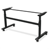 "Height-Adjustable Flipper Training Table Base - 32.75"" Height x 60"" Width x 24"" Depth - Assembly Required"