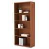 "HON 10700 Series Laminate Wood Furniture - 5 Compartment(s) - 71"" Height x 32.4"" Width x 13.1"" Depth - Recycled - Henna Cherry - Wood - 1Each"