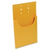 "Business Source Kraft Classification Pocket - Letter - 8 1/2"" x 11"" Sheet Size - 3/4"" Expansion - Internal Pocket(s) - Kraft - 100 / Box"