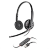 Blackwire C320 USB Headset - Stereo - Black - USB - Wired - Over-the-head - Binaural - Supra-aural - Noise Cancelling Microphone