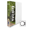 "Aurora Eco-Vista Round Ring View Binders - 1"" Binder Capacity - Letter - 8 1/2"" x 11"" Sheet Size - 3 x Round Ring Fastener(s) - 2 Spine, Inside Front & Back, Inside Front Pocket(s) - Polypropylene, Pa"